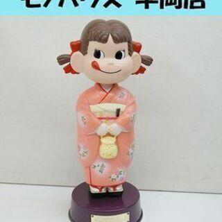 希少 不二家 ペコちゃん ボブルヘッド 2003年 夏 親子でケ...
