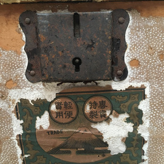 大昔の古い木箱 - 綾部市