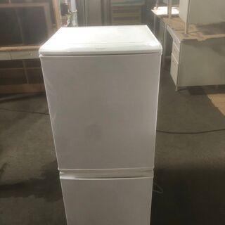 【良品】2013年製 SHARP 2ドア冷蔵庫 SJ-14…