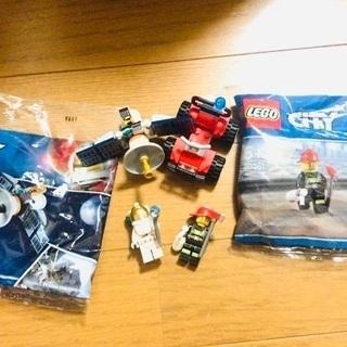 【新品未開封】レゴ 宇宙飛行士 消防士 消防車 人工衛星 知育玩具