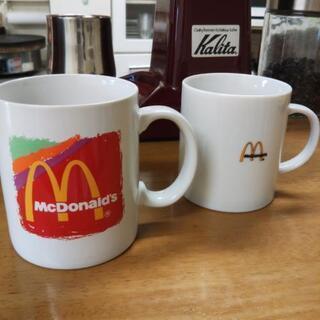 新品!マクドナルド  マグカップ  2種