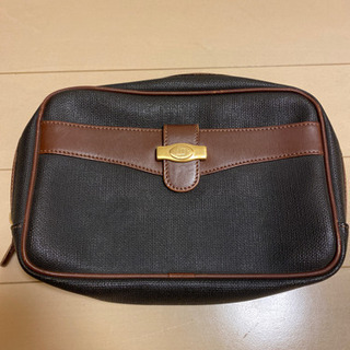 【ダンヒル】dunhillのセカンドバッグ