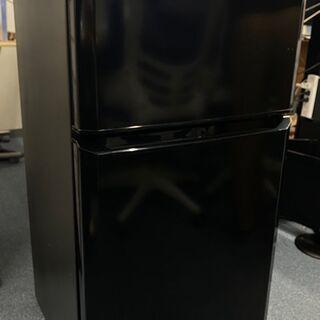 2ドア 冷蔵庫  ハイアール JR-N106H 黒