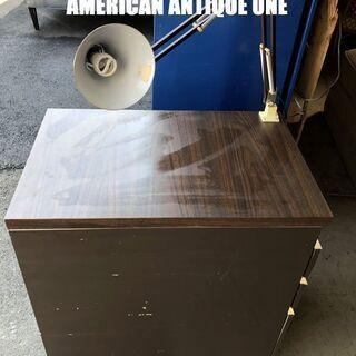 大型80cm 収納力抜群◎ 作業台 卓上ランプ、キャスター付き ...