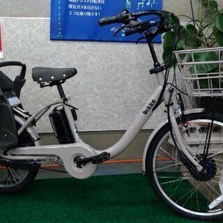 ブリヂストン子供乗せ電動自転車 ビッケモブdd モルベージュ