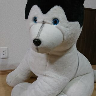 ハスキー犬 ぬいぐるみ 南極物語 ディズニー