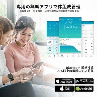 【新品・未使用】Bluetooth対応 高精度 体脂肪計 体組成計 − 東京都