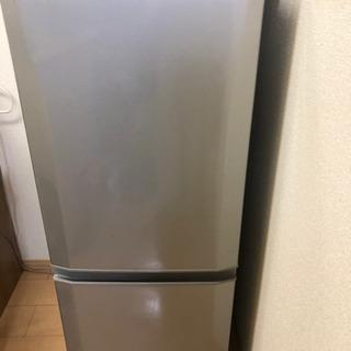 【お取引中】三菱冷蔵庫 2016年製 (シルバー)