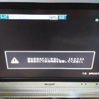 【ジャンク品】SHARP AQUOS テレビ  アクオス