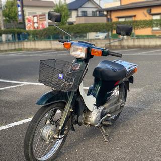 スズキ バーディ50 BA41 4サイクル セル付き ビジバイ