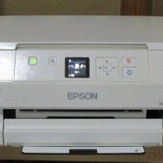 紙詰まりエラーのプリンター