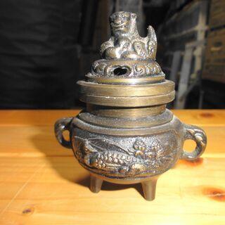 真鍮製の香炉