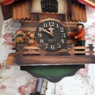 可愛い鳩時計