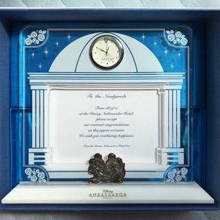 ディズニー アンバサダーホテル 結婚式 時計付きフォトフレーム