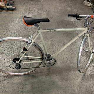 丸石 クロスバイク ハーフマイラー 美品