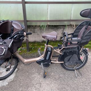 【お取り引き完了】3人乗り電動自転車 ブリジストン アンジェリーノ ミニの画像