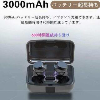 新品未開封Bluetooth イヤホン 蓋を開けたら接続 自動ペアリング 長時間連続 - 大阪市