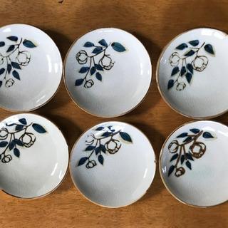 小皿6枚組(トルコキキョウ)