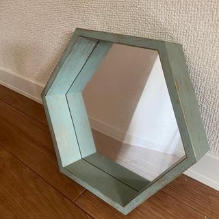 アンティーク風 鏡