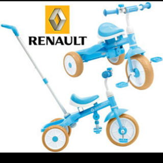 RENAULT TRICYCLE ルノーカジキリ機構付三輪車