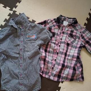 女の子シャツ2枚セット