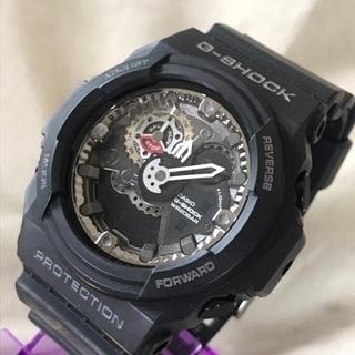 CASIO G-SHOCK ジーショック 黒デジアナ腕時計 GA...
