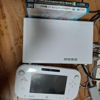 Wiiu 箱説明書無し ソフト2本セット