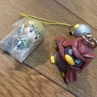 銀魂ストラップ 2種☆ak0047