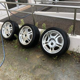 ¥14,000😊👍18インチ タイヤ付き 4本セット