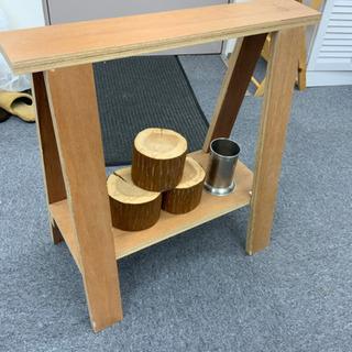 【ネット決済】木棚 イーゼル インテリア雑貨セット 1072
