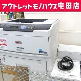 OKI モノクロLEDプリンター B801N 印刷OK 沖データ...