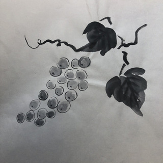 水墨画色々  ハンドメイド作品セット