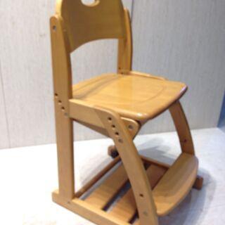 ★2268★くろがね工作所 イス 腰掛け  木製上下可動椅子 学...