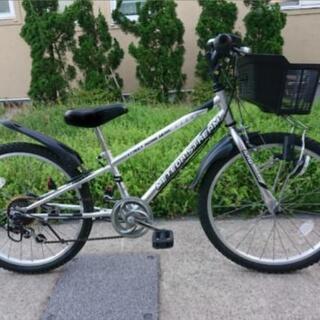 【取引中】子供 22インチ 自転車 シマノ変速付き