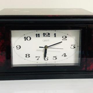 収納付き置き時計