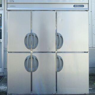 【ネット決済】フクシマ 6ドア 業務用冷凍冷蔵庫 URN-152...