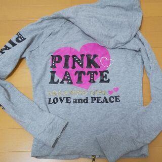 ピンクラテ(160cm)パーカー+LIZ LISAシャツ