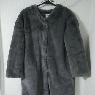 ナノ・ユニバース もふもふコート 未使用
