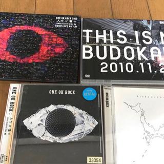 ONEOKROCKのLIVEDVD、アルバム、マウスパット全5点...