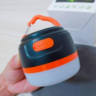 USB充電式 キャンプランタン 200LM高輝度 5200mAh...