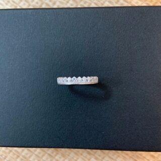 【新品未使用】11Stoneダイヤクラウンリング(SV925)