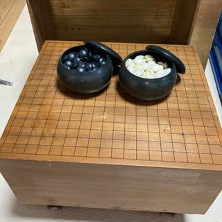 ☆宇都宮市より☆厚さ20.3cm!囲碁セット 囲碁盤&碁石
