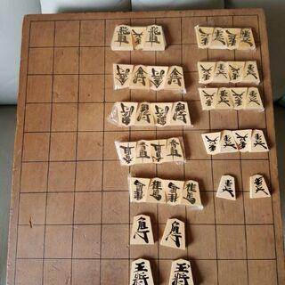 ♡山形天童特産 木箱入☆将棋駒♡