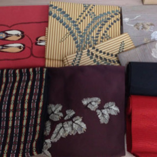 着物 正絹 帯 作り帯 名古屋帯 袋帯等 美品 年代物