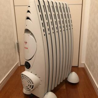 イタリア オーマス社製 ファンヒーター付き オイルラジエーターヒーター