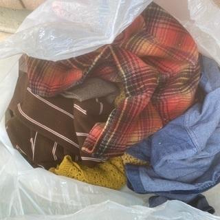 古い洋服や布切れタオル布製品全般