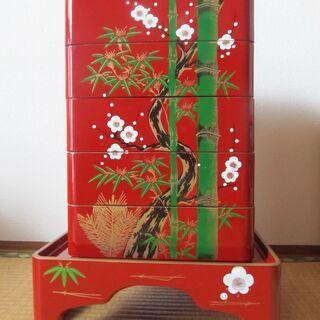 花米セット(台付き重箱)