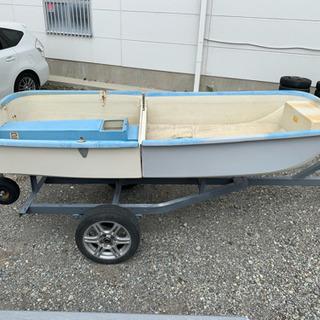 ヤマハ 2分割ボート  シーパック10 免許不要艇 2馬力ボート