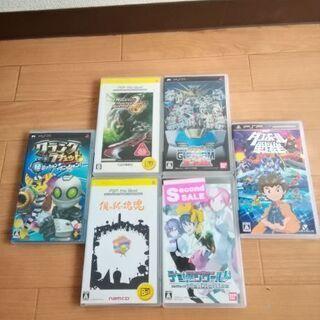 ゲームソフト処分 PSP6本 DS4本