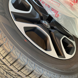 rav4  19インチ純正ホイール、タイヤセット4本 最終値下げ。